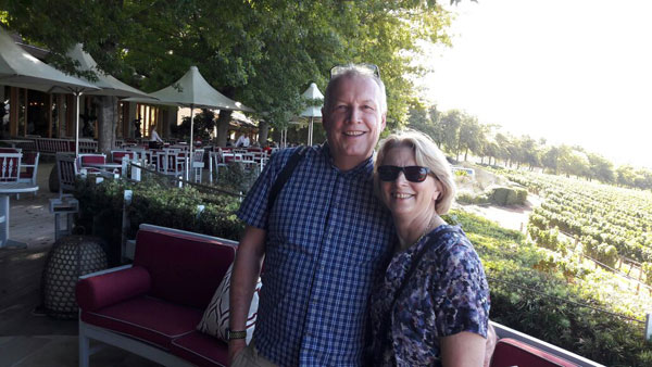 Delaire Graff was one of the famous wine estates visited by Paul and Julia Stead from the UK in March of this year.